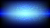 Abstract blue light and shade creative technology background. Vector illustration. - 232436180