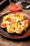 Pasta stuffed with meat