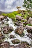 Waterfall at Llyn Idwal, Wales