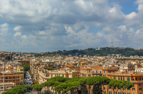 Widok Rzymu, Włochy