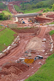 Road construction site - 232474757