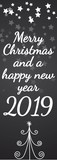 Merry Christmas and a happy new year 2019  - 232475368