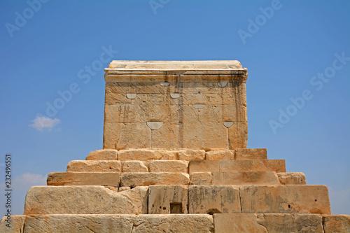 Tomb of Cyrus, the Great, Pasargadae, Iran