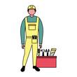 builder construction toolbox equipment