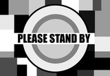 please stand by televsion test pattern - 232523179