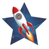 Astronaut boy in rocket - 232528706