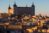 Alcazar of Toledo at sunset, Spain - 232545540
