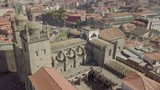 Cathedral of Porto by drone, Portugal - 232547381