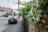 Street photo  in Pezinok. Near Bratislava. Slovakia