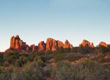 Sedona glows at sundown, Arizona - 232559127