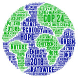 COP 24 in Katowice, Poland word cloud  - 232564159