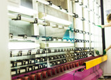 Production of PVC windows and double-glazed windows, a line for washing and drying glass for the production of insulating glass units, machine - 232599311