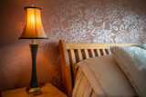 Table lamp in a bedroom - 232613715
