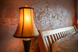 Table lamp in a bedroom - 232613716