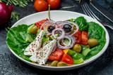 Greek salad with feta - 232620324