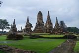 Chaiwattanaram temple in Ayuttaya Ruins of ancient in Thailand - 232620591
