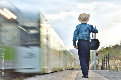 Foto Murales ローカル線・鉄道の旅