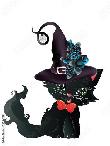 Black witch kitten - 232641118