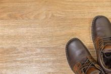 """Постер, картина, фотообои """"Winter warm shoes"""""""
