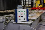portable electric control panel for launching the drilling system - 232655197