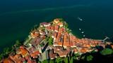 Aerial 4K - Varenna - Lago di Como (IT)  - 232670921