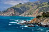 Pacific coast landscape in California - 232674989