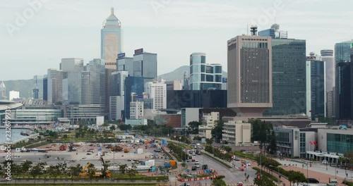 Poster Hong Kong urban city