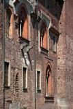 castello visconteo ad abbiategrasso in italia, visconti castle in abbiategrasso in italy - 232686598