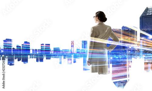 fototapeta na ścianę In rythm of modern business