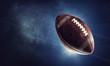 Leinwanddruck Bild - Rugby game concept