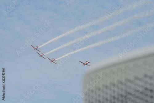 fototapeta na ścianę Airshow, aerial, aerial display