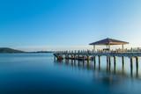 jetty wharf Seaview marina sunrise - 232748383