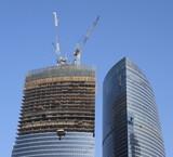 skyscraper develop on sky background - 232783558
