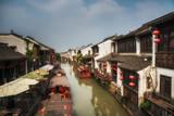 Ancient town Suzhou, Shanghai, China - 232845728