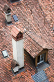Roof of a traditional house from Switzerland - 232846330