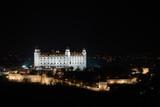 Castelo de Bratislava à noite