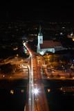Catedral em Bratislava à noite