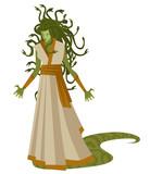 medusa gorgon monster - 232866791