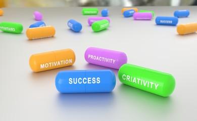 Key to Success pills © tiagozr