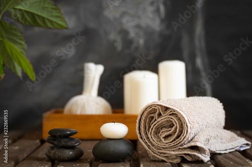 dekoracja obiektów wellness spa