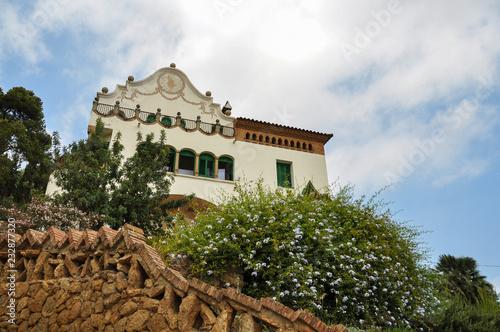 fototapeta na ścianę Casa Trias in park Guell