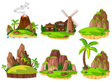 Set of different islands - 232896348