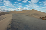 Wind scolpe sand to form the intriguing Mesquite Sand Dunes, Death Valley National Park, California - 232898104