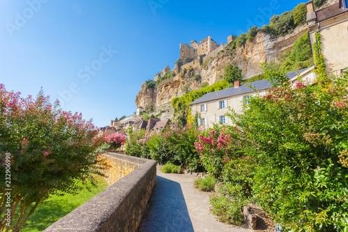 Village de Castelnaud-la-Chapelle en Périgord noir, Dordogne, France