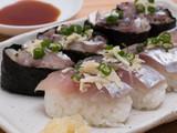 マアジのにぎり寿司