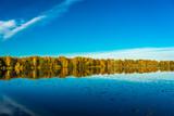 See in Norddeutschland im Herbst Meckelfeld See im großen Moor - 232915953