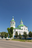 ISCHEMIAN CATHOLIC CATHEDRAL. Cathedral in honor of the Epiphany in Ishim, Russia. - 232917165