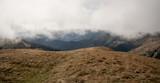 autumn Nizke Tatry mountains from Skalka hill in Slovakia