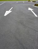 lane arrows on tarmac - 232919132