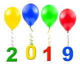 Balloons and 2019 - 232921141